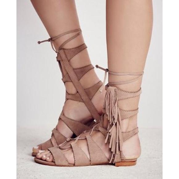 b40acf6f447 Schutz gladiator fringe sandal